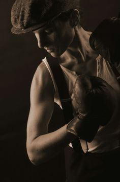 Vintage boxing 1920' Golden times