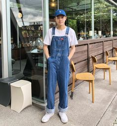 Bib Overalls, Dungarees, Herren Outfit, Guys, Jeans, Casual, Outfits, Fashion, Moda Masculina