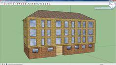Un fabuloso edificio creado a partir de una imagen con SketchUp