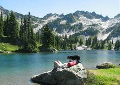 Backpacking in Washington for Kids