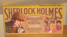 Whitman Sherlock Holmes Board Game   #sherlockholmes