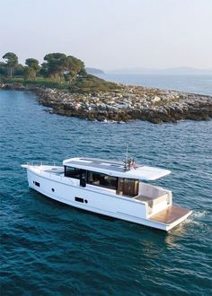 Seafaring 44 is the most sustainable motor yacht on the market. Thanks to the smart layout of the ship, the Seafaring 44 feels like a super-yacht. The overall design is modern and functional, with ample storage and smart features.