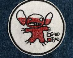 Stitch Iron On Patch