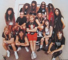 Big Four (Metallica, Megadeth, Slayer, Anthrax)