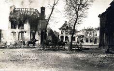 1918 - Mounted Germany Artillerymen in Nieppe