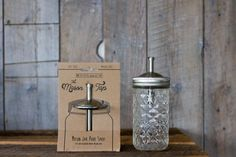 The Mason Tap is a high-quality, made in the USA, stainless steel infuser lid that transforms any regular mouth jar into the perfect vessel for infusing, storing and pouring.