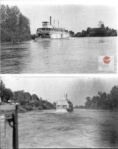 Sternwheeler Pamona on Oregon's Willamette River Steam Boats, Paddle Boat, West Coast, Oregon, Roots, Sailing, Ships, War, River