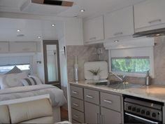 modern caravan renovation ideas home - Google Search