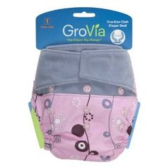 Grovia hook and loop closure - cloth diapering system. These are awesome - way more reliable than disposables.