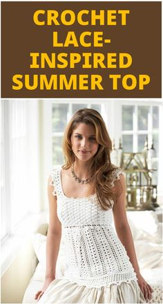 50+ Quick & Easy Crochet Summer Tops - Free Patterns - Page 5 of 9 - DIY & Crafts