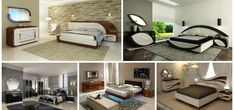 15 Dazzling Modern Bedroom Furniture Set to Blow you Away Modern Bedroom Furniture Sets, Subwoofer Box, Ceiling Ideas, Wall, Design Ideas, Home Decor, My Dream House, Attic Ideas, Decoration Home