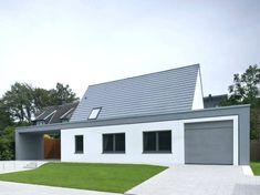 Architekt Fur Hausbau Ansicht Von Der Straae Modern Hauser Von Koschany  Zimmer Architekten Kza Architekten Hausbau