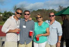 University of New Hampshire get-together in The Hamptons.