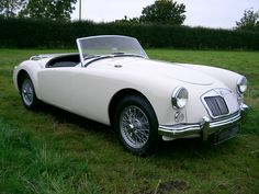 mga roadster. One of the most beautiful MG's ever produced.