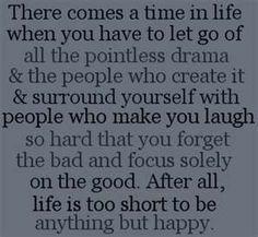 Lovin Life!!!!! Especially laughing at the drama!!!!!!! hahahahahahaha