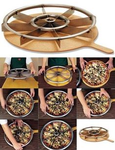 pizza and cake cutter