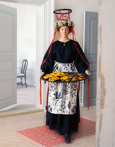 St. Lucia (Swedish traditional yuletide costume)