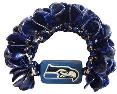 NFL Seattle Seahawks Team Fashion Petal Bracelet, Price:$6.99