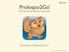 Tutorial for Proloquo 2 Go: Part 1