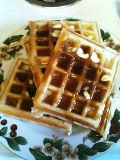 In The Mommy Business: The Most Amazing Waffles You'll Ever Make.