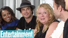 Ian Somerhalder - Comic-Con 2014: 'Vampire Diaries' castmembers say what they'd wait in lo...
