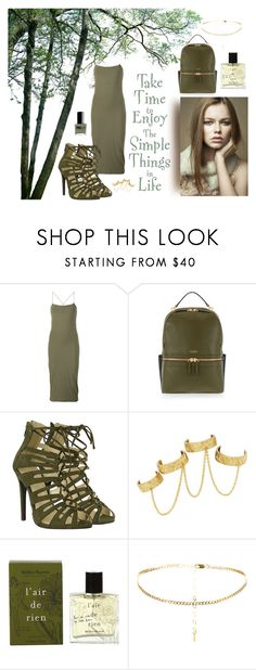"""The Simple Things in Life"" by classicstyle4u ❤ liked on Polyvore featuring T By Alexander Wang, Henri Bendel, Pretty Green, House of Harlow 1960, Miller Harris and ncLA"