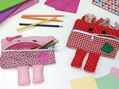 Manualidades y Artesanías | Estuches con personajes | Utilisima.com