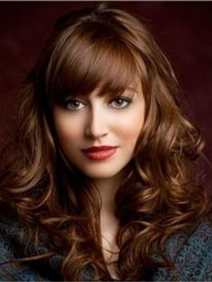 Amazing Attractive Fabulous Long Brown Curly Hair Styles for Women 2014 Fashion Trends Design Remy Human Hair Capless Wig about 20 Inches Item # W3432  Original Price: $747.00 Latest Price: $245.19