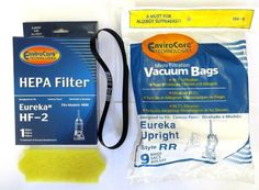 Eureka Ultra Smart Vac & 4800 Series Filter Set Designed To Fit Eureka Ultra Smart Vac & 4800 Series Vacuums, Compare To Eureka HF-2 Part # 61111B & Motor Filter Part # 70082,