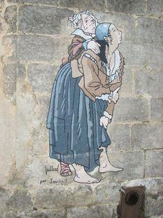 *La BD sur les murs, Angoulême, France*