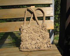 Luv this crochet bag
