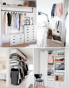 luxurious homes interior My New Room, My Room, Small Bedroom Hacks, Ideas Armario, New Beds, Recycled Furniture, House Rooms, Home Organization, Small Spaces