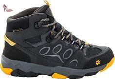 Jack Wolfskin Mountain Storm Texapore Mid, Chaussures de Trekking et Randonnée Femme - Marron - Braun (Sahara 5122), 42,5 EU