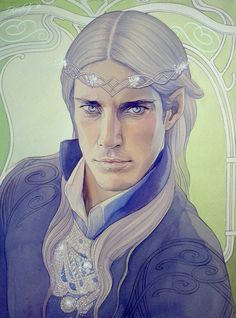 Nauglamir.Thingol. by kimberly80 on DeviantArt/// This is exactly how I have always pictured him.