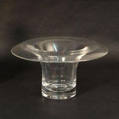 Glass vase by Helena Tynell for Riihimaen Lasi Oy N7919