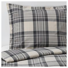SMALRUTA Duvet cover and pillowcase(s) IKEA Made in cotton - a natural and durable material that becomes softer with every wash. King Duvet, Queen Duvet, Teen Boy Bedding, Ikea Usa, Ikea Home, Quilt Cover, Linen Bedding, Bed Linen, Bedding Sets