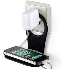 iphone charging shelf!