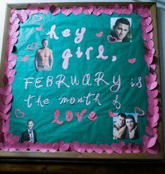 February Bulletin Board February Bulletin Boards, Ra Boards, Board Ideas, Birthday Cake, Birthday Cakes, Cake Birthday