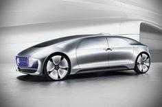 Mercedes-Benz F 015 Luxury in Motion Autonomous Concept