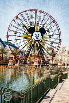 Disneyland's California Adventure by Peter Talke