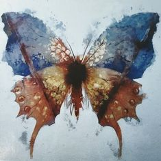 easy watercolor paintings - easy watercolor paintings of butterflies Butterfly Watercolor, Easy Watercolor, Butterfly Art, Watercolor Paintings, Watercolor Techniques, Art Techniques, Watercolour Tutorials, Gif Disney, Design Floral
