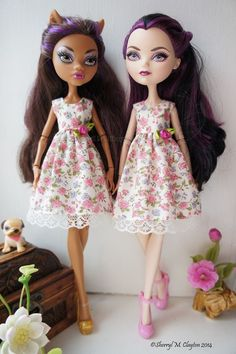 Handmade Monster and Ever After High Doll Dress