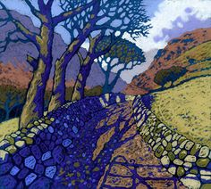 BWLCH LLYN BACH*  CHRIS NEALE landscape artist