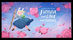 """kingofooo: """" Fionna and Cake and Fionna - title card designed by Hanna K Nyström painted by Joy Ang premieres Wednesday, July at on Cartoon Network """" Another new Adventure Time. Adventure Time Series Finale, Watch Adventure Time, Marceline, Land Of Ooo, Time Cartoon, Lumpy Space Princess, Nickelodeon Cartoons, King Book, Jake The Dogs"""