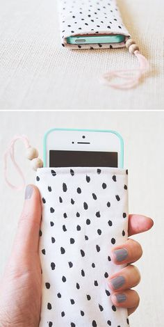 DIY Pouch : DIY phone pouch