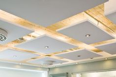 Commercial Ceiling Clouds- suspended panels- ceiling design