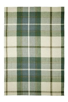 Green Check Rug From Next 50 Pounds For 120cm X 170cm Rugs In Living Room