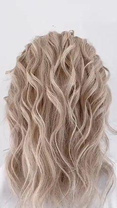 Medium Hair Styles, Short Hair Styles, Hair Updos For Medium Hair, Hair Upstyles, Great Hair, Hair Videos, Up Hairstyles, Hairdos, Bridal Hair