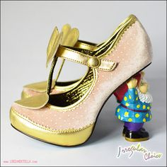 funny shoes with a norm