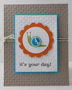 Love the fun colors!  - Stampin' Up!  Teigerlily Designs